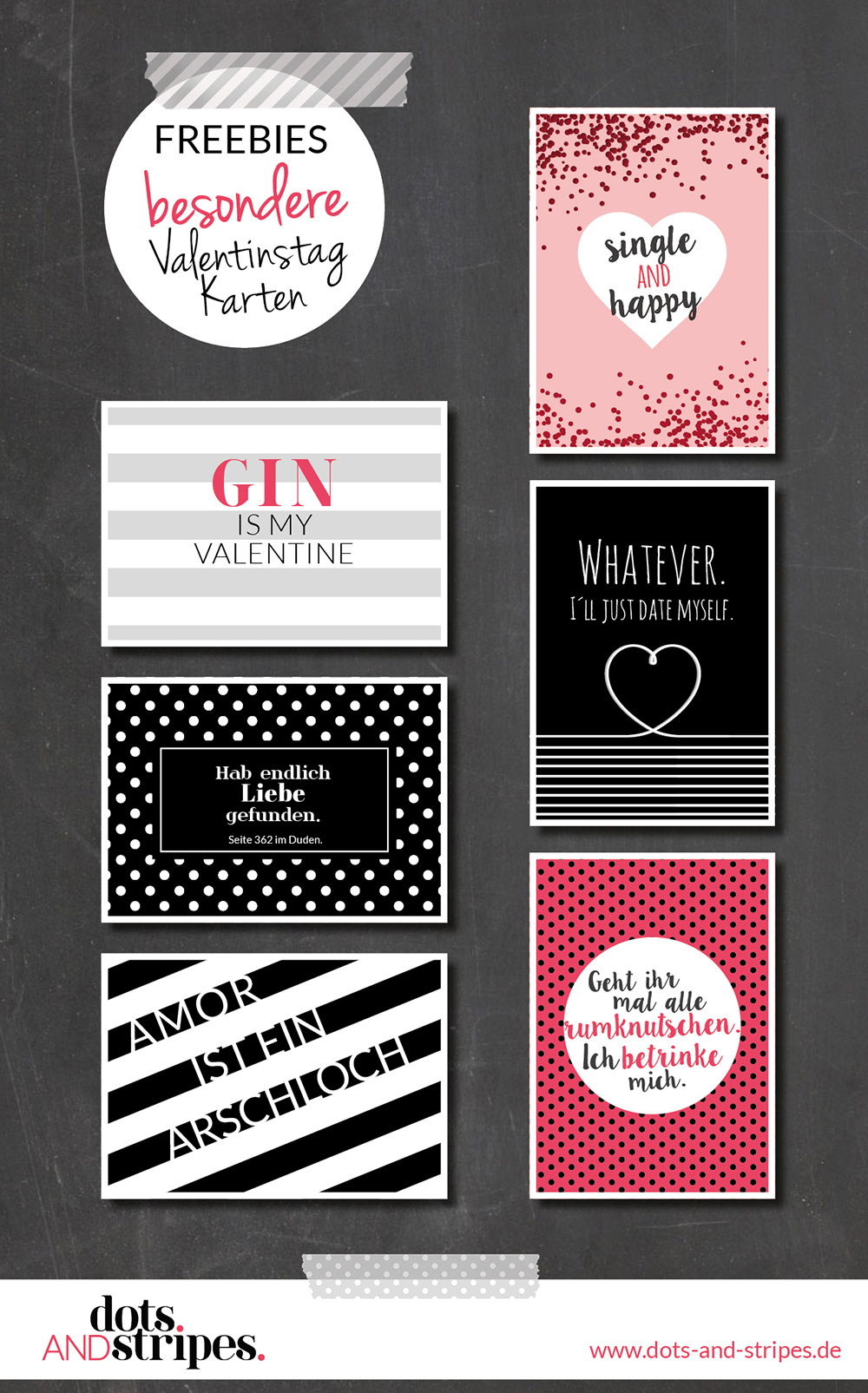Freebies Valentinstag